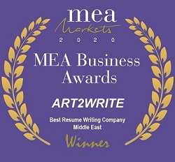 top cv writing MEA awards